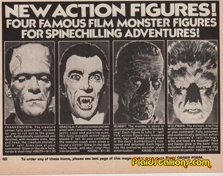Ad for Remco Figures via Captain Company (C.1975)