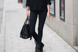 mine fashion street style black city