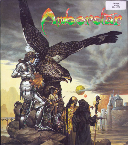 Amberstar is a 1992 RPG for the Amiga by Thalion Software. It was the first in an unfinished trilogy.