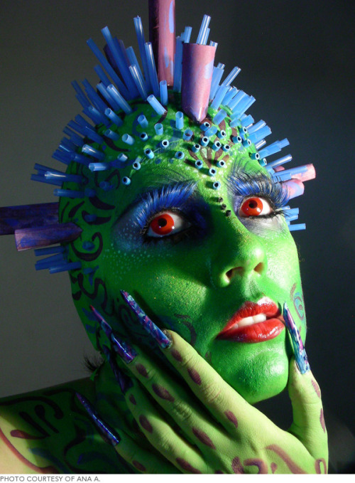 Check out these special effects Halloween looks that take makeup to a whole new level.