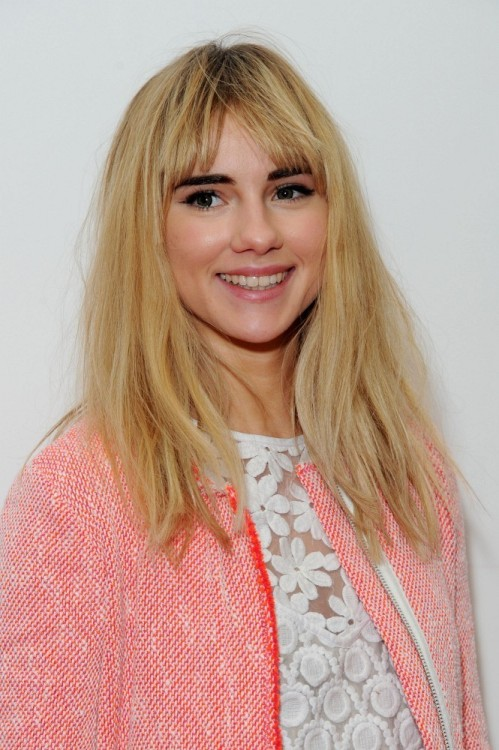 earlysunsetsovermonroeville:  Suki Waterhouse attends the gala screening of 'Pusher' at Hackney Picturehouse on October 4, 2012 in London, England.
