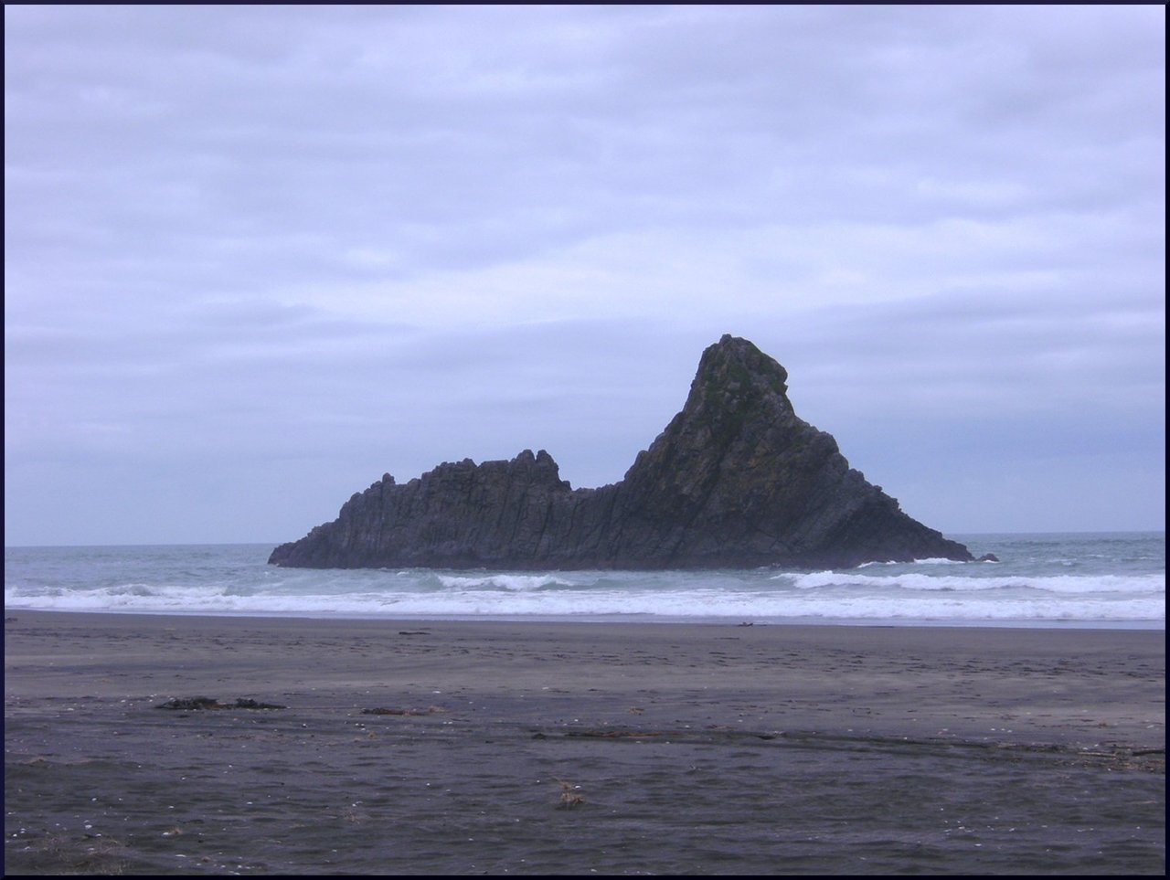 "Kare Kare Beach, New Zealand ""The Piano"" was shot here and ""Together Alone"" by Crowded House was made here."