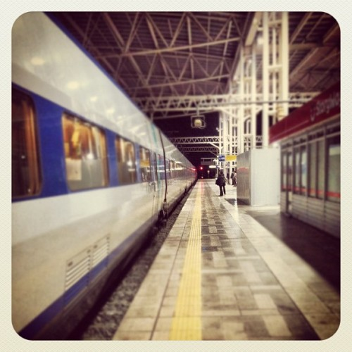 #seoul #station #subway #south Korea #ktx #highspeed #train (Taken with Instagram)