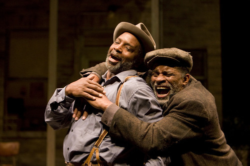 David Alan Anderson and Jerome Preston Bates in Denver Center Theatre Companys production of Fences.