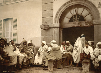 Arabs, cafe, Algeria