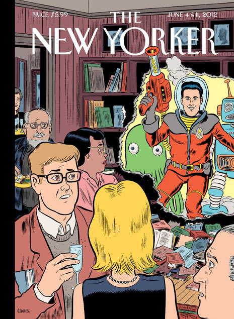 Crashing the Gate by Daniel Clowes - from The New Yorker's very first (and very awesome) Science Fiction issue.
