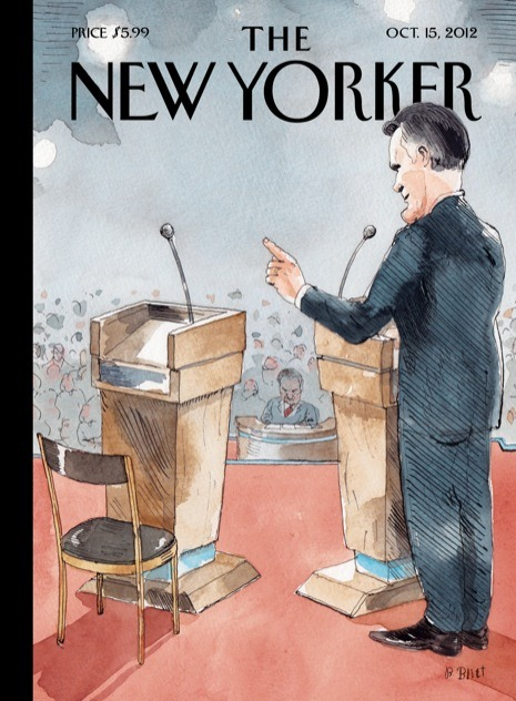 Zing. theatlantic:  The cover of next week's issue of The New Yorker.