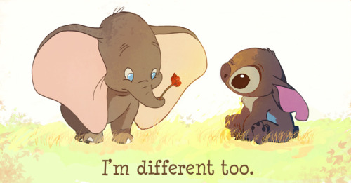 I'm different too.
