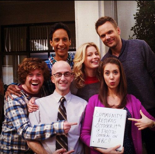 October 19th 8:30/7:30 central on NBC!  Huzzah! #Community returns!