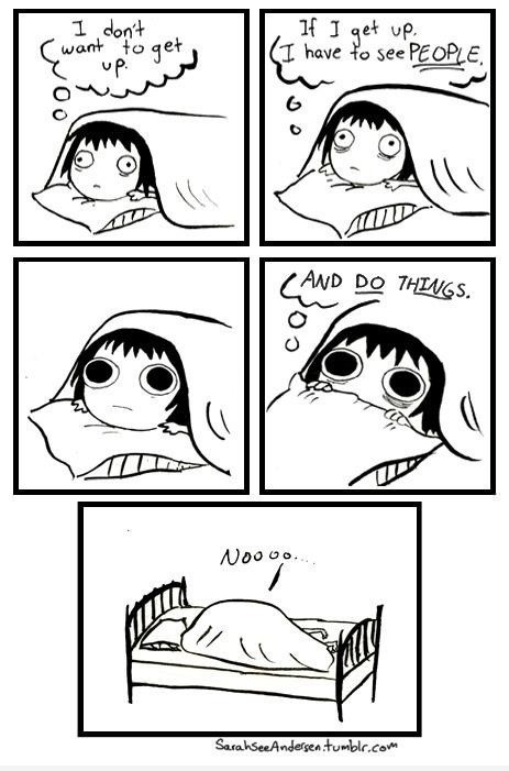 Me on most Sunday mornings. Hahaha.