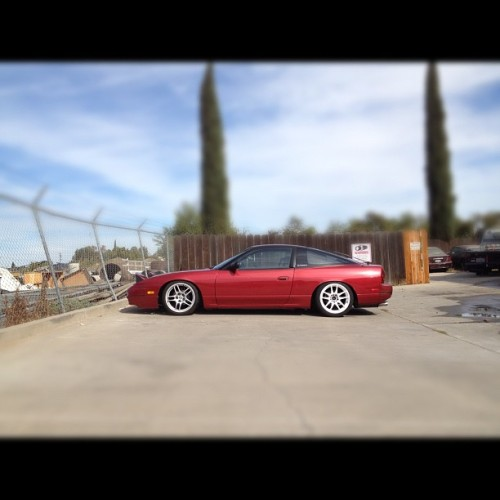 First car wash in months damn she looks good all clean and shit. #240 #tuansfurniture #s13 #240sx #driftlife #hashtags  (Taken with Instagram)