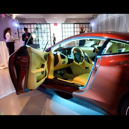 Aston Martin Vanquish Press Preview Event - NYC (Taken with Instagram)