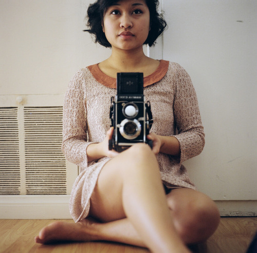 Self Portrait by Saria Dy on Flickr.