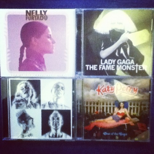 Went in to buy #nellyfurtado and came out with four in total!! (Taken with Instagram)