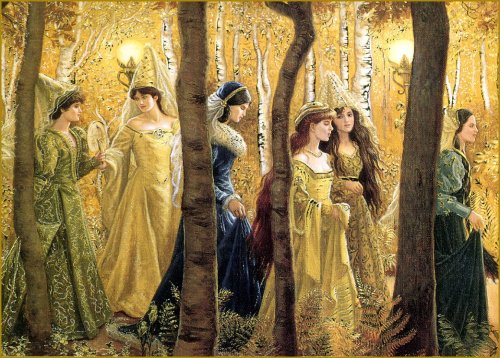 colourthysoul:  Ruth Sanderson - The Twelve Dancing Princesses