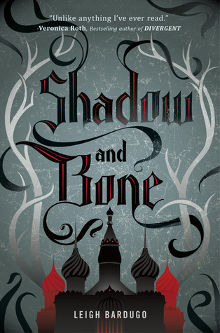 "My review for Shadow and Bone by Leigh Bardugo.   Surrounded by enemies, the once-great nation of Ravka has been torn in two by the Shadow Fold, a swath of near impenetrable darkness crawling with monsters who feast on human flesh. Now its fate may rest on the shoulders of one lonely refugee.Alina Starkov has never been good at anything. But when her regiment is attacked on the Fold and her best friend is brutally injured, Alina reveals a dormant power that saves his life—a power that could be the key to setting her war-ravaged country free. Wrenched from everything she knows, Alina is whisked away to the royal court to be trained as a member of the Grisha, the magical elite led by the mysterious Darkling.Yet nothing in this lavish world is what it seems. With darkness looming and an entire kingdom depending on her untamed power, Alina will have to confront the secrets of the Grisha…and the secrets of her heart. Summary from Goodreads.  This book is the first of a trilogy. Here's what I thought: Alina is such a great character! She's funny and interesting. I really liked the journey, both figurative and literal, that Bardugo sets up for her. She's a smart, self-reliant chick, and even though she doesn't feel special, she is. However, just because she's special doesn't mean she wasn't relatable. The readers feel for Alina, and root for her (which can be quite fun). My roommate actually made a good point,when I spoke to her about this book, in saying that she sort of wished Alina would end up on her own…as in, ditch the love story! At least, that's sort of how I took it. I did like Mal and the Darkling. It's just that, to read about Alina on her own was much more satisfying. The opposition of this book, though predictable, was nevertheless enjoyable. I swear, the villain made me question my morals (which in turn amused me). All the same, at least there's no bad guy speech. At least, not that I remember. This book is a really fast read, with only 358 pages. It is the first in a trilogy (I think it's a trilogy, anyway) and so the ending is kind of cliffy. I didn't mind though, because it's not a torturous cliffhanger. It's just one of those, ""hey, wait for book two, okay? Cause there's more.""  The story is set in Ravka. It's a really cool setting that we (my roommate and I) could only describe as a Russian semi-steampunk fantasy place.  We also decided that we'd read the next two books, because the first was actually pretty good. I couldn't believe that this was Bardugo's first published book.  So, basically, I recommend this book! :D"