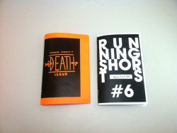 Happy Hallowzine! Two new zines to put in your trash!