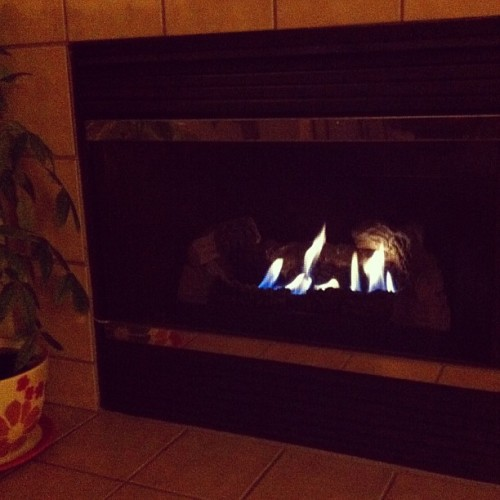 Either need marshmallows…. or a pillow and blanket.  (Taken with Instagram)
