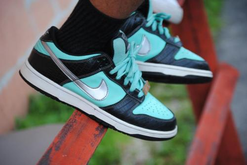 rockyourkicks:  Tiffany Nike SBs #rockyourkicks