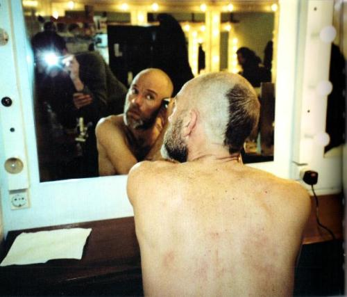 jangst:  A picture of Michael Stipe from the Hello book.