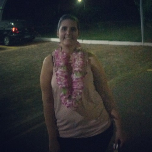 It's a #luau kinda night #brasilia  (Taken with Instagram)