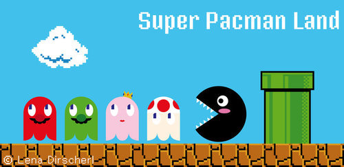 Super Pacman Land by Lena Dirscherl