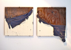 SUBMISSION: Josh Fairbanks, Uncovered, Latex paint, wood panel, screws. 2012.