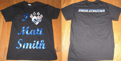 g3fca2a-cheetahs:  Finally got my Matt Smith shirt! ♥