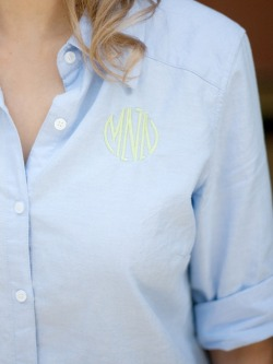 lillyprepitzer:  give me monogrammed everything!