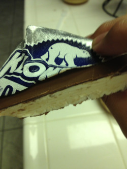 I only split Klondike Bars with my brother.
