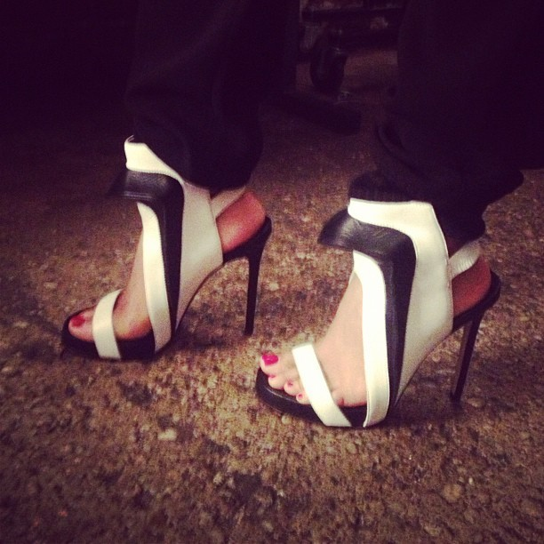 Sexy shoe fetish courtesy of @juneambrose ;-) (Taken with Instagram)