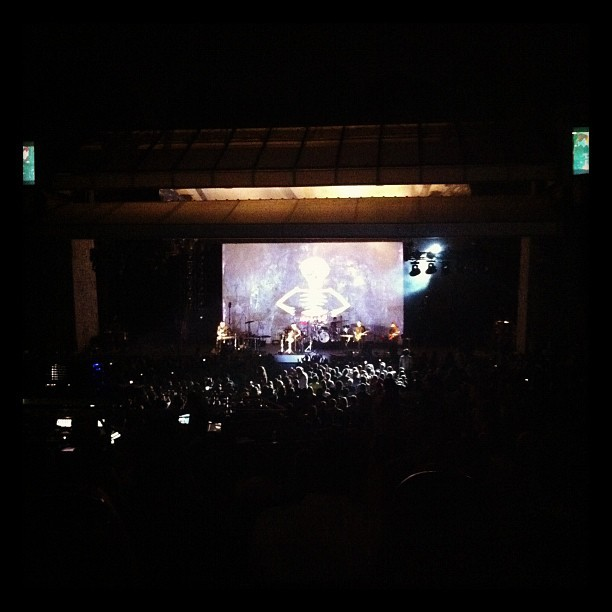 Gotye concert  (Taken with Instagram at Chastain Park Amphitheater)