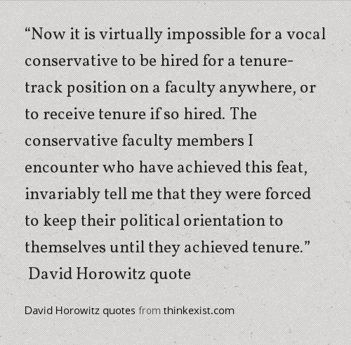 findingsposts:  David Horowitz quotes from thinkexist.com via Findings.