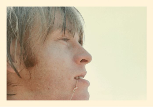 Found photo of Brian Jones, 1965, Dilettante Gallery