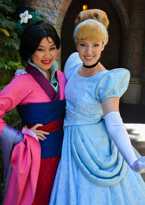 belleieve:  Mulan and Cinderella (by EverythingDisney)