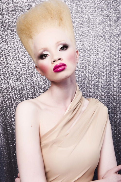 blackfashion:  southafricasmostfashionable: Thando Hopa for Gert-Johan Coetzee #Blackfashion on FacebookTwitter @blackFashionbyj