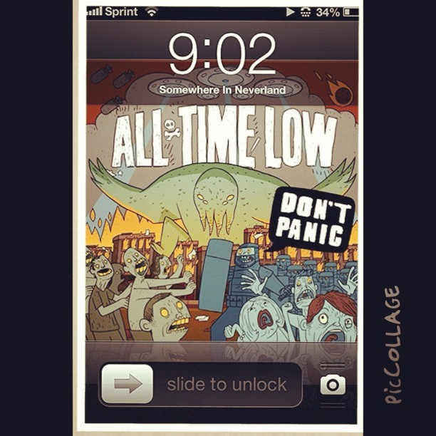 ;) #dontpanic #newalbum  #alltimelow #alexandergaskarth #jackbarakat #riandawson #zacharymerrick #ahmazing #love #best #band #ever #bestalbumyet #lovethem #atl #atlfan #1fan #best #inspiration #life (Taken with Instagram)
