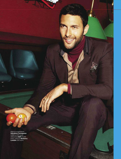 mensfashionworld:  Noah Mills by Yu Tsai for GQ Italia