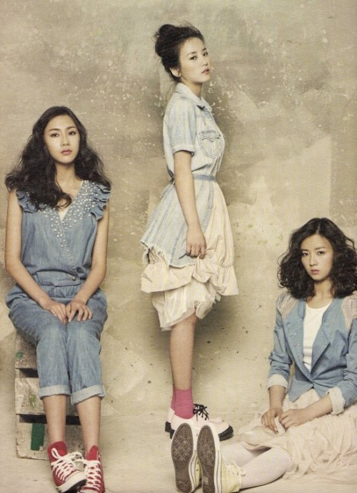 koreanmodel:  Apink by Kim Young Jun for HighCut