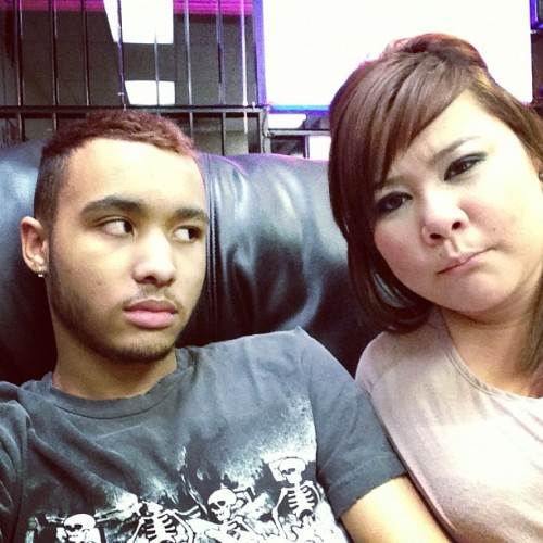 Gettin tattoos. #tattoo #gay #ink #friends #lol @love_hil  (Taken with Instagram)