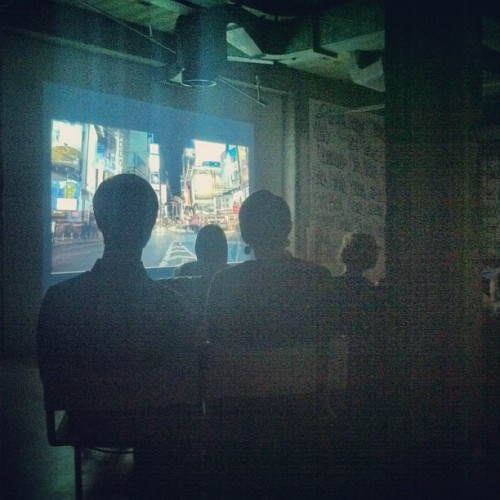 Line of sight. #lucasbrunelle #movienight (Taken with Instagram at Nicholas Wray Studio)