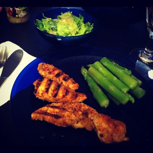 #dinner #mycreation #yummy  (Taken with Instagram at Im At Hogwarts Fool)