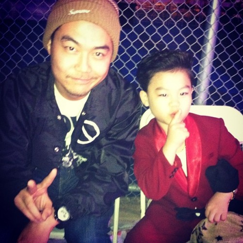 freedumbfoundead:  I roll with that little kid from the gangnam style video  (Taken with Instagram)