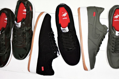(via Supreme x Nike Air Force 1 2012 | Hypebeast)