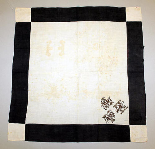 Mourning Handkerchief The Metropolitan Museum of Art