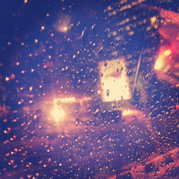 #rain got me stuck on you (Taken with Instagram)