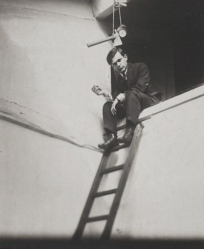 Tristan Tzara by Man Ray, 1921