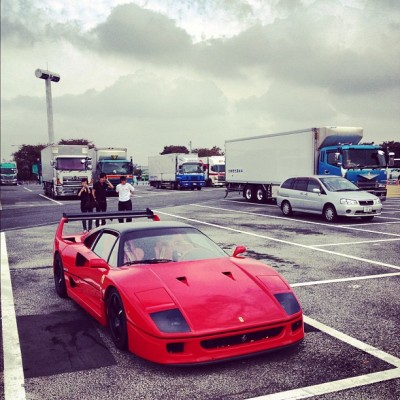 And this #F40 was pretty spectacular.  @tokyobhoy_rwbgary had the best day of his life.  #Ferrari  (Taken with Instagram)