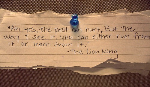 The Lion King is a wise one.