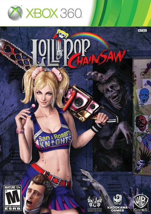 gamefreaksnz:   Lollipop Chainsaw  Lollipop Chainsaw is the 'un-deadly' story of sweet and killer zombie-hunter Juliet Starling and her quest to uncover the root of a colossal zombie outbreak.  List Price: $39.99       Sale Price: $29.99     You Save: $10.00 (25%)